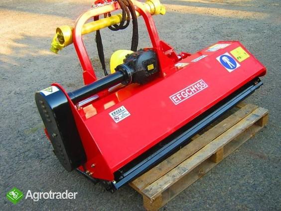 KOSIARKA bijakowa przesuwna hydraulicznie,  szerokość 155cm, bijak 800 - zdjęcie 1