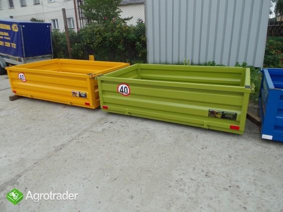 Skrzynia ładunkowa transportowa kontener ciągnik wózek widło ADAMER  - zdjęcie 5