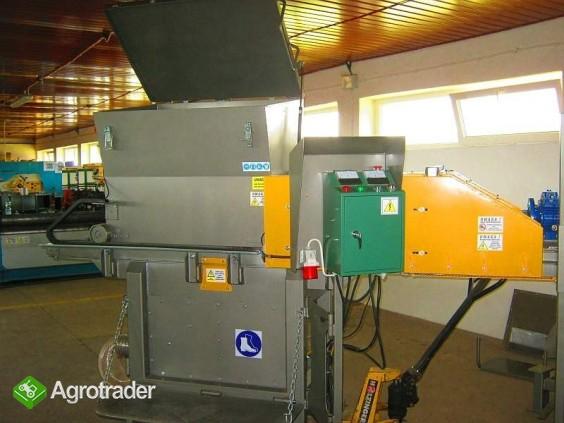 Rozdrabniacz, STRUGARKA  do nieforemnych odpadów 11 kW, HEBLER W-1 - zdjęcie 2
