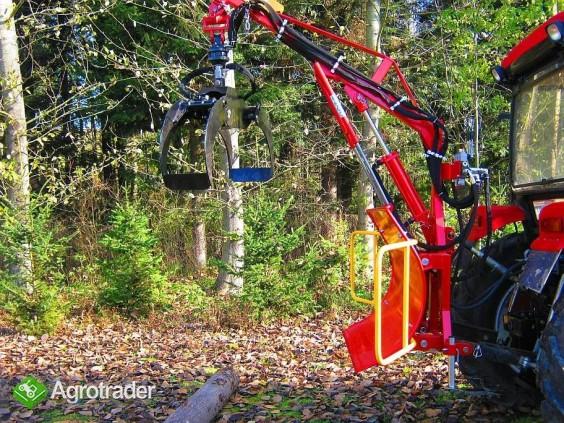 CHWYTAK ZRYWKOWO-ZAŁADOWCZY DO DREWNA DO CIĄGNIKóW min.18 hp - zdjęcie 2