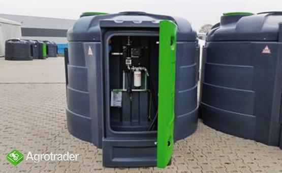 Zbiornik dwupłaszczowy na paliwo on ropę fortis 3000 L cpn  - zdjęcie 1
