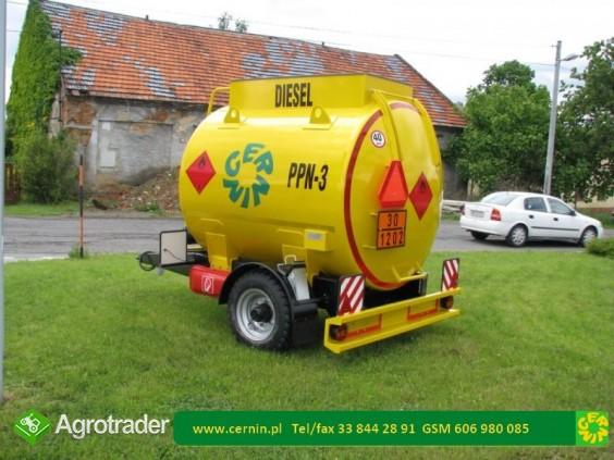 Zbiornik na paliwo na przyczepie 10000 litrów - zdjęcie 6