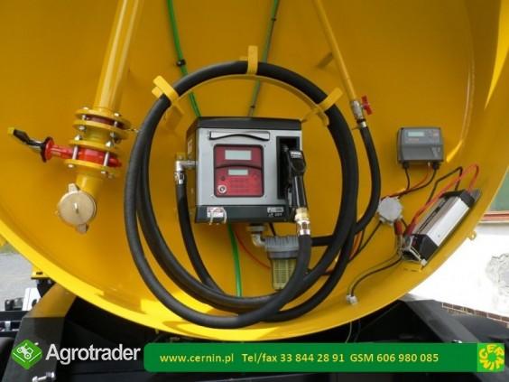 Zbiornik na paliwo 5000 litrów na przyczepie  - zdjęcie 5