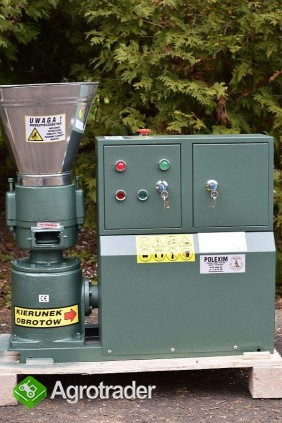 PELLECIARKA: wydajność 75-100-kg/h, silnik 3 kW, matryca 6 mm lub 8mm. - zdjęcie 2