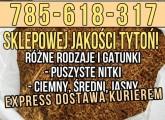 Tytoń papierosowy sklepowej jakości, 65zł/kg Wysyłka na całą Polskę!