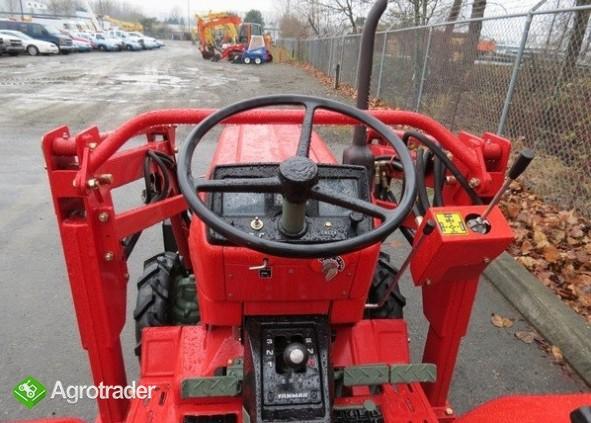 Ciągnik Yanmar 1601D + akcesoria - zdjęcie 4