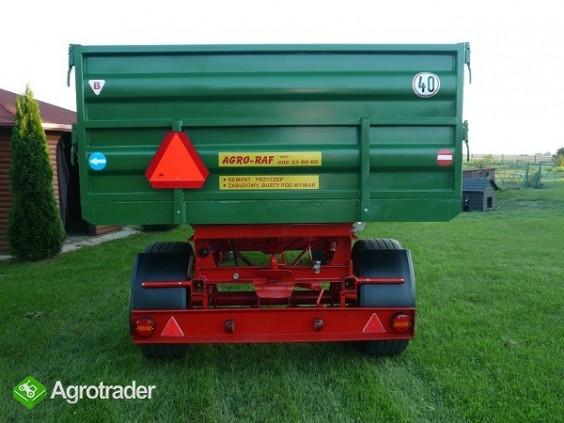 Przyczepa wywrotka 8 ton HL 8011 przyczepy wywrotka jak nowa paletowa - zdjęcie 2
