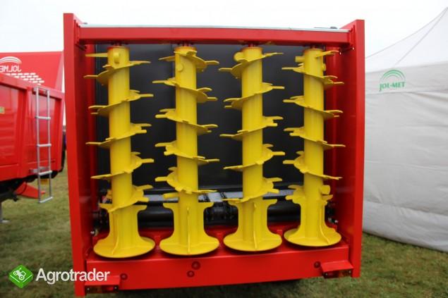 Rozrzutnik obornika skorupkowy Jol-met rozrzutniki skorupkowe - zdjęcie 6