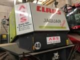 CLAAS JAGUAR 850 4X4 SPEEDSTAR + KEMPER 345 - 2002 ROK