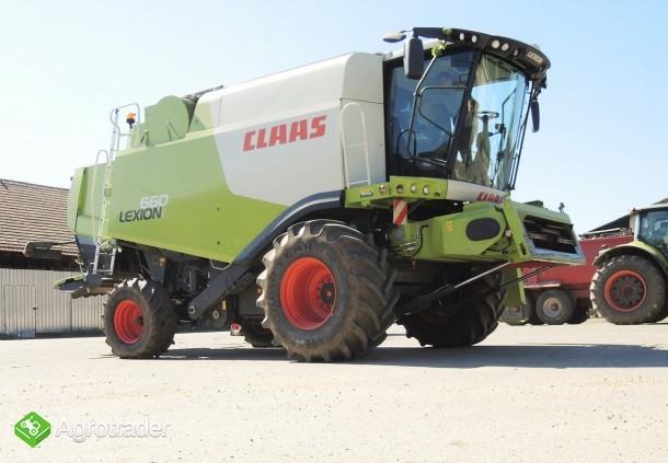 CLAAS LEXION 660 - V750 - 815 h - zdjęcie 2