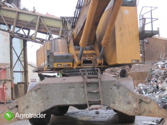 Koparka przemyslowa LIEBHERR  A 954 z chwytakiem do zlomu - zdjęcie 6