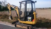 Caterpillar CAT 301.7D Mini-Koparka ( YANMAR VIO20, WACKER NEUSON ET18