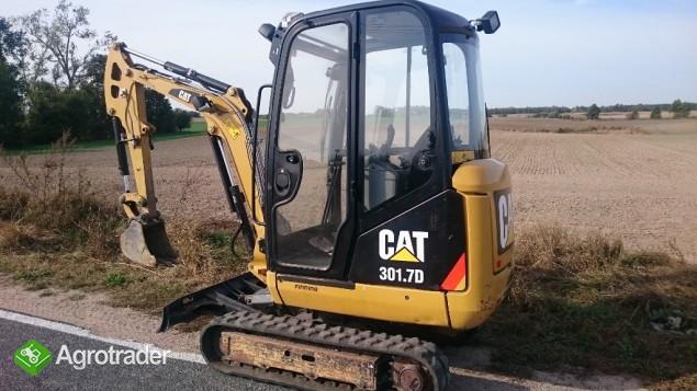 Caterpillar CAT 301.7D Mini-Koparka ( YANMAR VIO20, WACKER NEUSON ET18