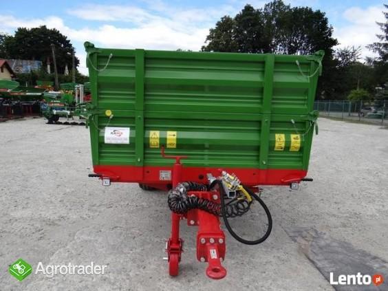 Przyczepa rolnicza 5 t jednoosiowa PRONAR T654/2 - zdjęcie 1