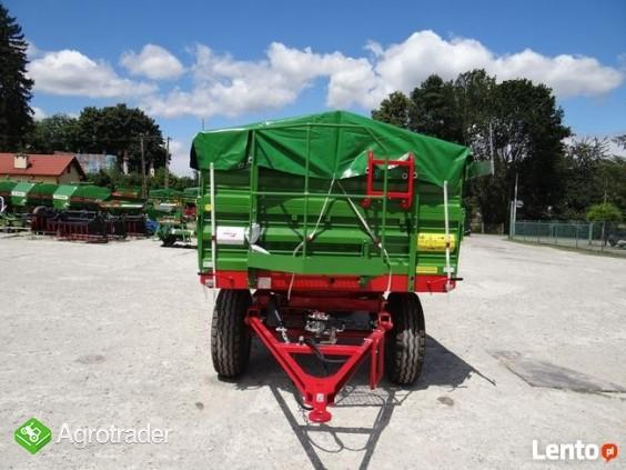 Przyczepa rolnicza 6 t PRONAR T 653/2 od ręki wyprzedaż - zdjęcie 3