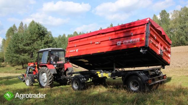 Przyczepa rolnicza T940/2 – 6t - zdjęcie 1
