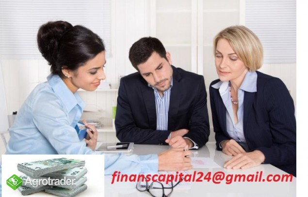 Inwestycja / Kredyt: rolnik, przemysł, nieruchomości