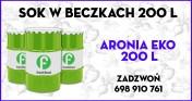 Sok z ARONII EKOLOGICZNEJ - 0,95 EUR/kg