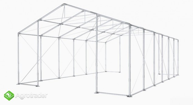 Całoroczna Hala namiotowa Magazyn 8x12×3,5/4,96m - zdjęcie 1