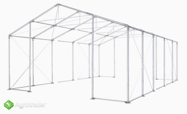 Magazyn Całoroczna Hala namiotowa 8m × 18m × 3,5m/4,96m - zdjęcie 1