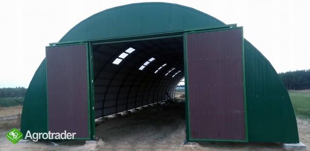 HALA łukowa hangar magazynowy sprzęt 10,8 x 45