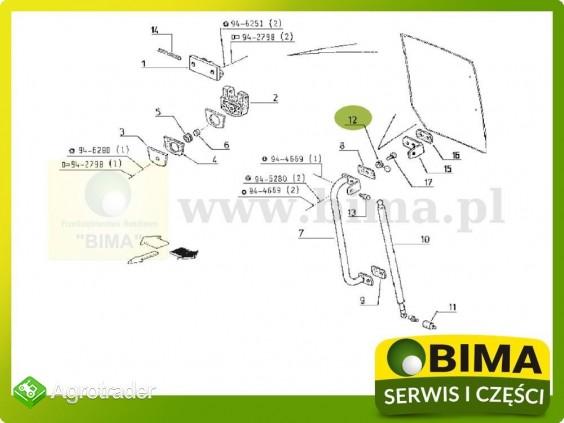 Kołpak śruby mocującej szybę Renault CLAAS 103-12 - zdjęcie 3