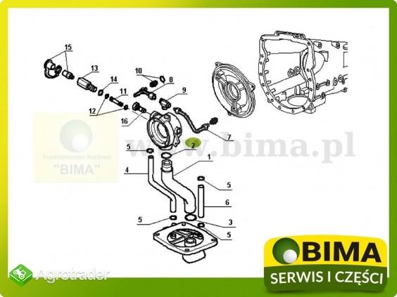Oring uszczelniacz Renault CLAAS 85-14,85-32,85-34 - zdjęcie 2