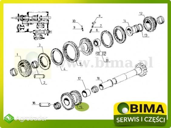 Używane koło zębate rewersu Renault CLAAS 113-12,113-14 - zdjęcie 4