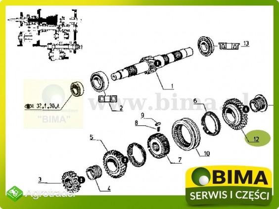 Używane koło czwartego biegu Renault CLAAS 155-54,95-12 - zdjęcie 2
