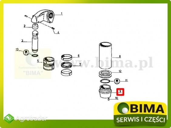 Stojak cylindra podnośnika Renault CLAAS 851-4,95-12 - zdjęcie 2