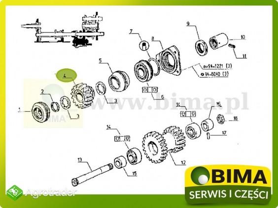 Używane koło zębate wom pto Renault CLAAS 782-4,851 - zdjęcie 3