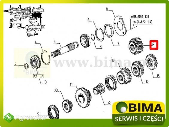 Używane koło zębate skrzyni biegów Renault CLAAS 113-12 - zdjęcie 2
