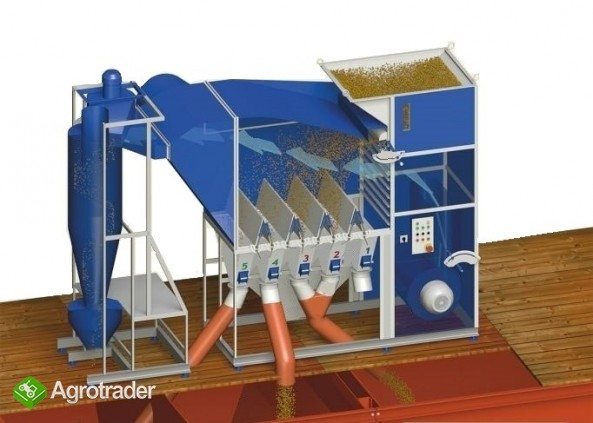 Separator aerodynamiczny SAD 10 bez cyklonu, wialnia, czyszczalnia - zdjęcie 5