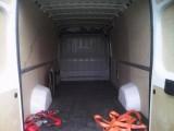 usługi transportowe rzeczy i towarów kraj i zagranica, bus blaszka 4m