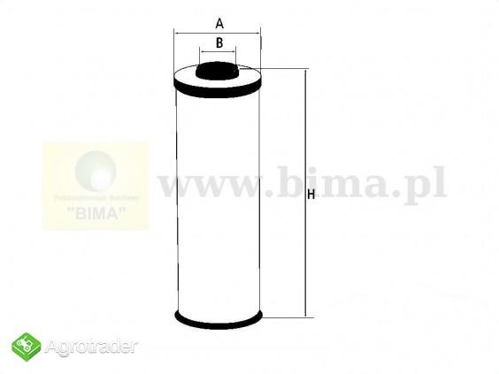 Filtr hydrauliczny Massey Ferguson 6497  6499,6499 8210 - zdjęcie 1