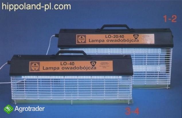 Lampa owadobójcza typ PR 2x40