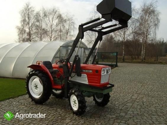 Mini traktor YANMAR 2010 D + TUR nie kubota iseki - zdjęcie 1