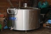 Zbiornik do schładzania mleka - 1200 litrów