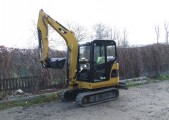 Mini koparka CAT 302.5C z roku 2007