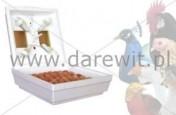 Wylęgarka do 70 jaj kury, bażant, paw, przepiórka