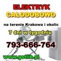 Elektryk Kraków  Tel. 793-666-764